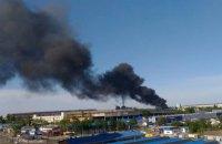 """Пожар на заводе по производству автошин """"Росава"""" в Белой Церкви потушили"""