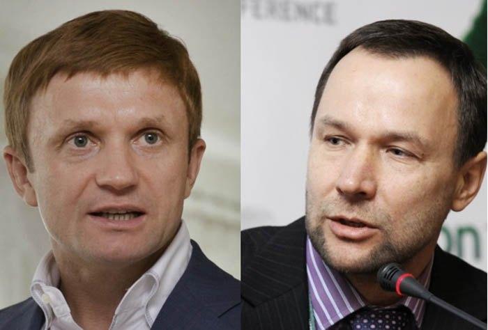 Степан Ивахив и Виталий Антонов (справа)