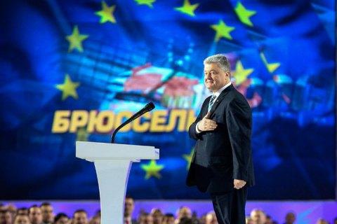 Порошенко сохраняет надежду стать депутатом Европарламента