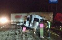 В аварії під Києвом загинули 5 людей, 20 травмувалися