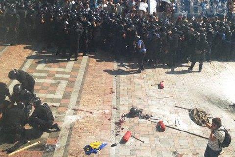 ГПУ передала в суд дело против подозреваемых в столкновениях под Радой 31 августа