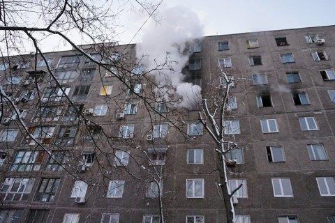 В Днепре при пожаре в общежитии пострадали шесть человек
