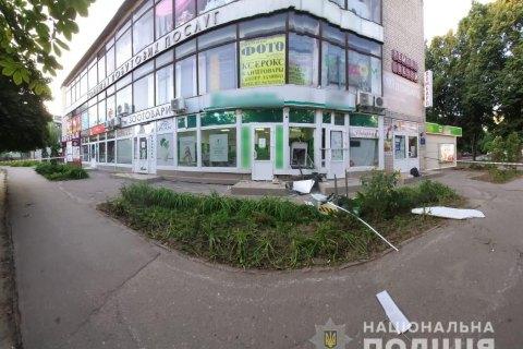 В Харькове и его окрестностях взорвали банкоматы