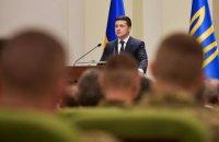 Зеленський: Україна прагне наближати армію до стандартів НАТО не на словах, а на ділі