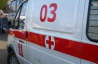 У Донецьку впав балкон
