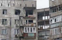 З'явилося відео обстрілу житлового масиву в Маріуполі