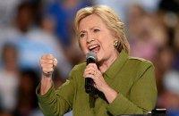 """Клинтон идет в """"красные"""" штаты"""