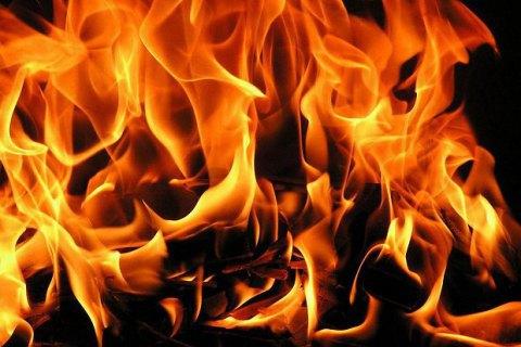 У Львівській області на трасі загорівся сміттєвоз, водій загинув