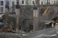 На стройке на киевской Воздвиженке обрушилось перекрытие (обновлено)