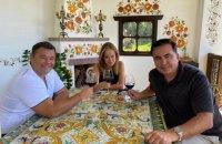 """Саакашвили прокомментировал свое фото с Богданом: """"Я полностью поддерживаю президента Зеленского"""""""