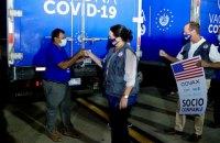 США відправляють 1,5 млн доз вакцини Moderna у Сальвадор