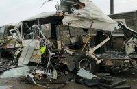 В России грузовик врезался в колонну военных автобусов, 4 погибших и 15 травмированных