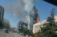 Загорелся 12-этажный дом в Одессе