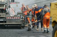 Из-за ремонта дорог в Киеве ограничат движение на 77 улицах