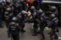 Правительство Каталонии сообщило о 337 пострадавших в столкновениях с полицией