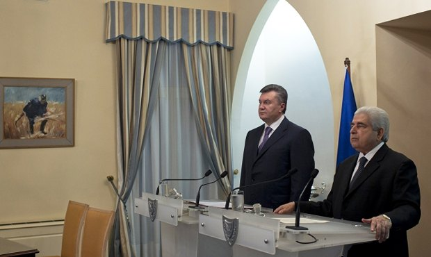 Янукович сожалеет, что украинские президенты редко посещают Кипр