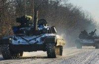 Штаб АТО відзвітував про обстановку в зоні бойових дій