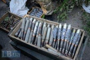 У рейсовому автобусі Київ-Донецьк знайшли посилку з боєприпасами