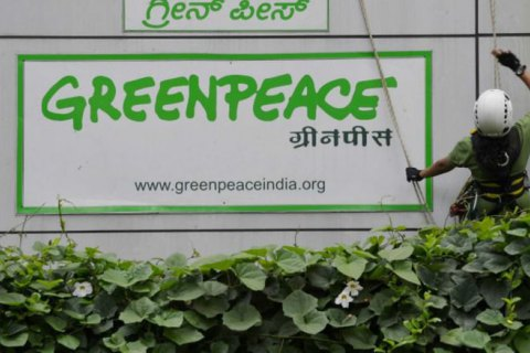 Индия отозвала лицензию на работу Greenpeace в стране