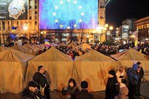 Милиция сообщает об изнасиловании в палаточном городке Евромайдана в Киеве