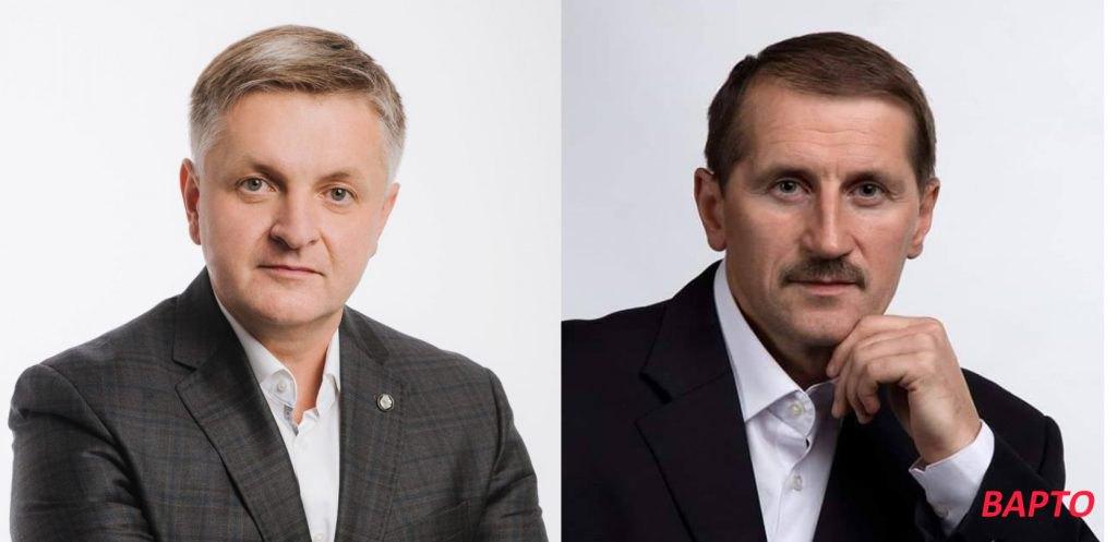 Андрій Веселий vs Тарас Кучма (справа)