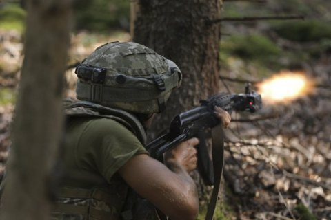 На Донбассе оккупанты семь раз нарушили договоренности. Украинские военные открыли ответный огонь