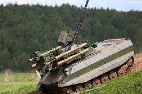 """Росія вперше застосувала бойові роботи """"Уран-9"""" і """"Нерехта"""""""