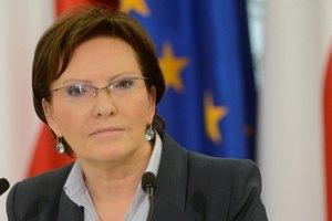 Копач назвала прийом біженців обов'язком Польщі