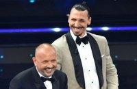 Геї Італії образилися на Ібрагімовича після його жарту на музичному фестивалі в Сан-Ремо