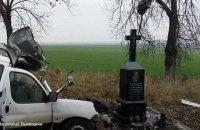 На Львовщине в ДТП с международным автобусом погиб водитель легкового автомобиля