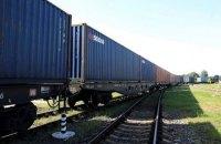 Україна прийняла перший контейнерний поїзд з Китаю