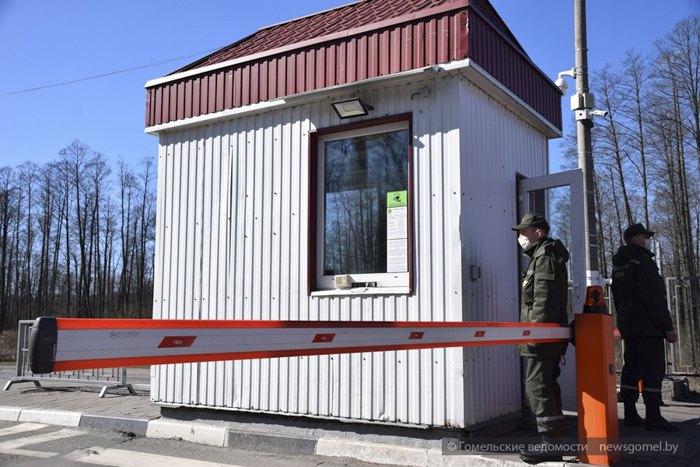 Пункт пропуска Гута Нова на белорусско-украинской границе