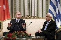 Ердоган пред'явив Греції територіальні претензії