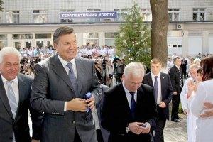 Янукович потребовал от Азарова выполнить план по Европе