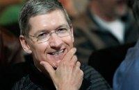 Гендиректор Apple Тим Кук изменил имя в Twitter после оговорки Трампа