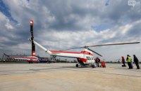 """Український вертоліт """"Надія"""" вперше піднявся в небо в Запоріжжі"""