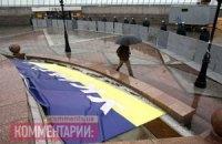 Майдан Независимости оградили металлическим забором
