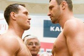 Виталий Кличко нокаутировал Альберта Сосновского
