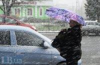 В Украине будет снежить до четверга