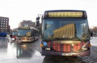 Автобусы с протестующими не выпускают из Львовской области на митинг