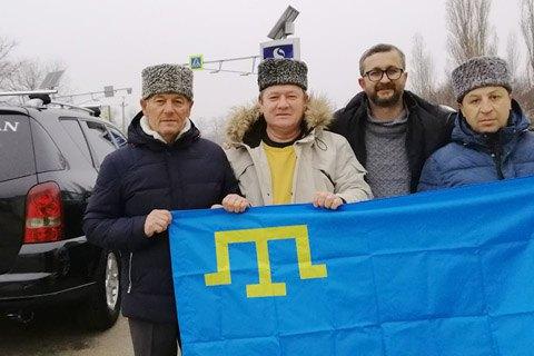 """""""Мы рады, что удалось выполнить задуманное"""". Нариман Джелялов о передаче помощи украинским морякам"""