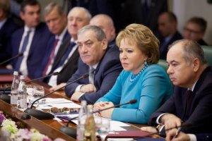 """Голова Радфеду РФ закликала не розглядати сценарій введення """"миротворців"""" в Україну"""
