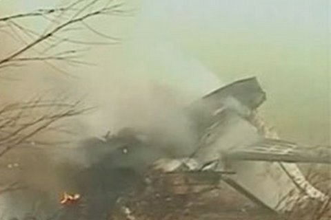 У Німеччині розбився американський військовий літак