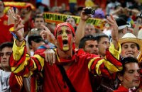 До Києва їдуть 11 тис. іспанських уболівальників