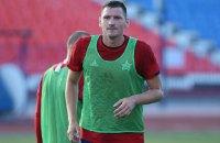 Український футболіст став гравцем клубу російської армії