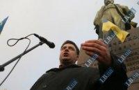 Тягнибок призывает после выборов отправить Януковича в отставку