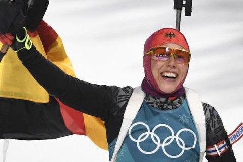 Лаура Дальмайр стала двукратной чемпионкой Пхёнчхана
