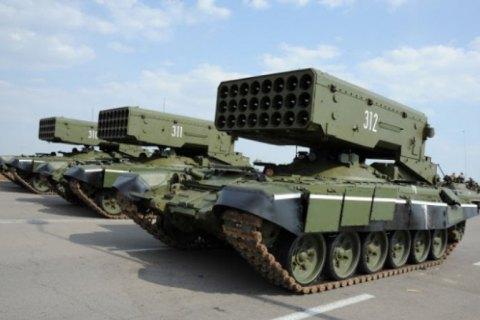 """ОБСЕ увидела у сепаратистов запрещенные системы """"Буратино"""""""