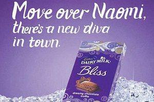 Наоми Кэмбелл засудит Cadbury за сравнение ее кожи с шоколадкой
