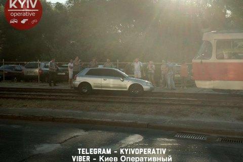 Поліція затримала двох чоловіків, які втекли після ДТП на Троєщині (оновлено)